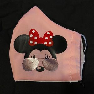 Made to order Minnie Mouse face coverings